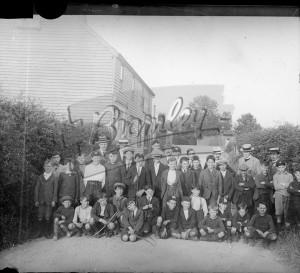 Ready to walk to TownCourt, 1900s