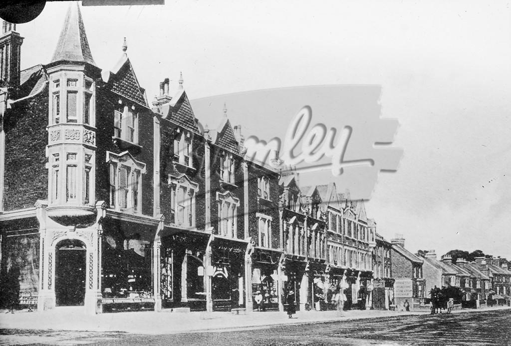 Beckenham Road by Kent House, Beckenham 1900s