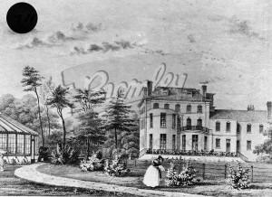 Village Place back of house, Beckenham 1838
