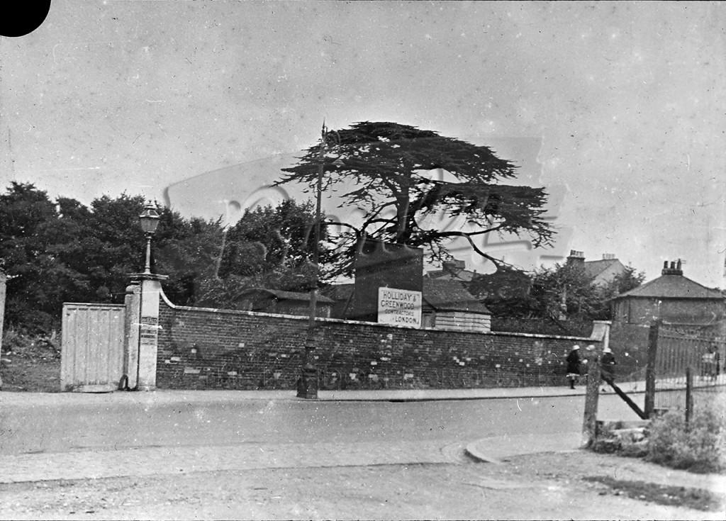 Village Place before demolition, Beckenham 1926