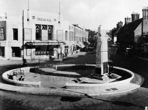 Regal Cinema and War Memorial, Beckenham, Beckenham 1950s