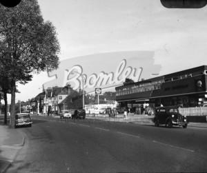 Shell Garage, Upper Elmers End Road, Eden Park 1964