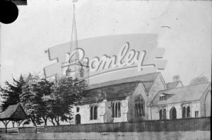 Beckenham Old Church, Beckenham 1800