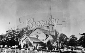 St Georges Parish Church, Beckenham, Beckenham 1880s
