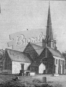 Old Parish Church, Beckenham, Beckenham 1811