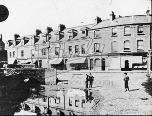 Thornton's Corner and Brook Place, Beckenham, Beckenham 1878