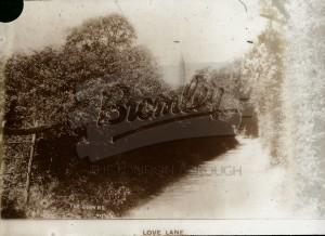 Love Lane, Beckenham, 1890