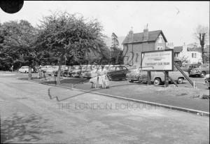 St Georges Road Car Park, Beckenham, Beckenham c.1960