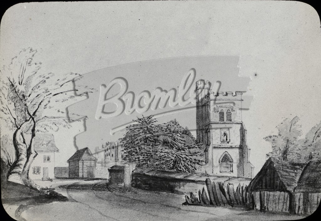St Peters and St Paul's Church, Bromley, Bromley 1855