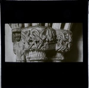 Pillar Cap at Bromely Parish Church, Bromley 1200s