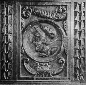 Panel – St Nicholas Church, Chislehurst, Chislehurst 1634