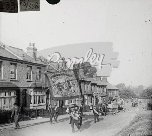 Hospital Sunday Parade, Orpington, 1925