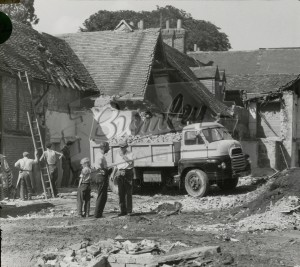 Demolition of The Priory buildings, Orpington, Orpington 1959
