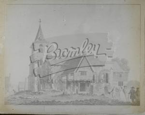 Parish Church, St Mary Cray, St Mary Cray 1780