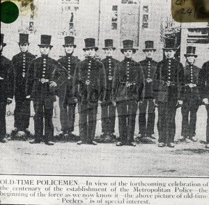 """""""Old Time Policemen"""","""