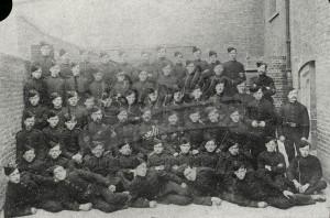 West Kent Volunteers,  early 1900s