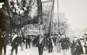 United Builders Labourers Union march,  early 1900s