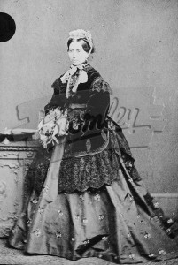 Mrs Samuel Wilson,  early Victorian ?1830s  According to dress style photo taken in 1860's