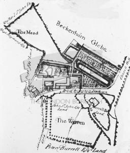 Thomas Motley's Estate, Beckenham 1736