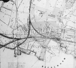 Cator Estate, Beckenham 1864