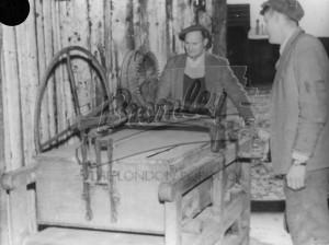 Possibly sheet metal press,  1920