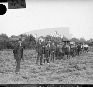 Group of boys in field (2),  c.1930