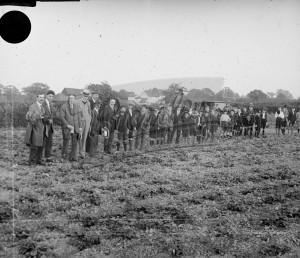 Group of boys in field (3),  c.1930