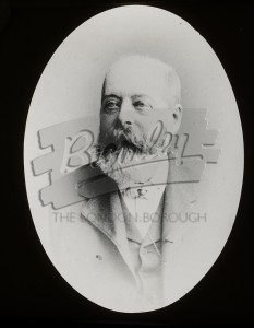 Portrait of man,  late 19th C