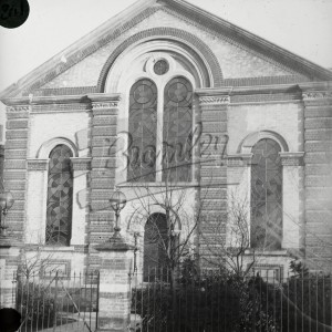 Frontage of Chapel,