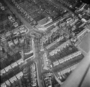 Aerial View over Beckenham, Beckenham 1954