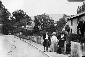 Upper Elmers End Road, Beckenham, Beckenham c.1890