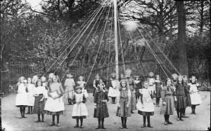 Maypole Dancing, West Wickham c.1910
