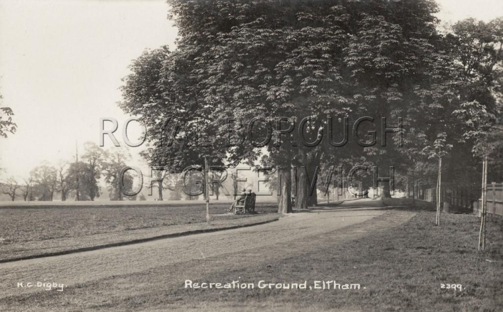 Greenwich recreation ground