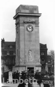 STOCKWELL MEMORIAL, CLAPHAM ROAD, STOCKWELL