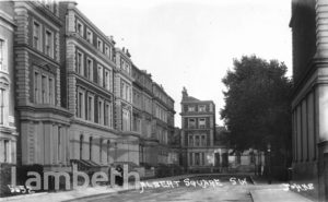 ALBERT SQUARE, SOUTH LAMBETH