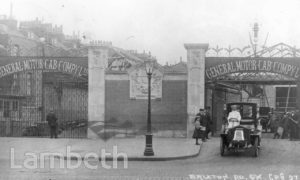 GENERAL MOTOR CAB COMPANY, BRIXTON ROAD, BRIXTON NORTH