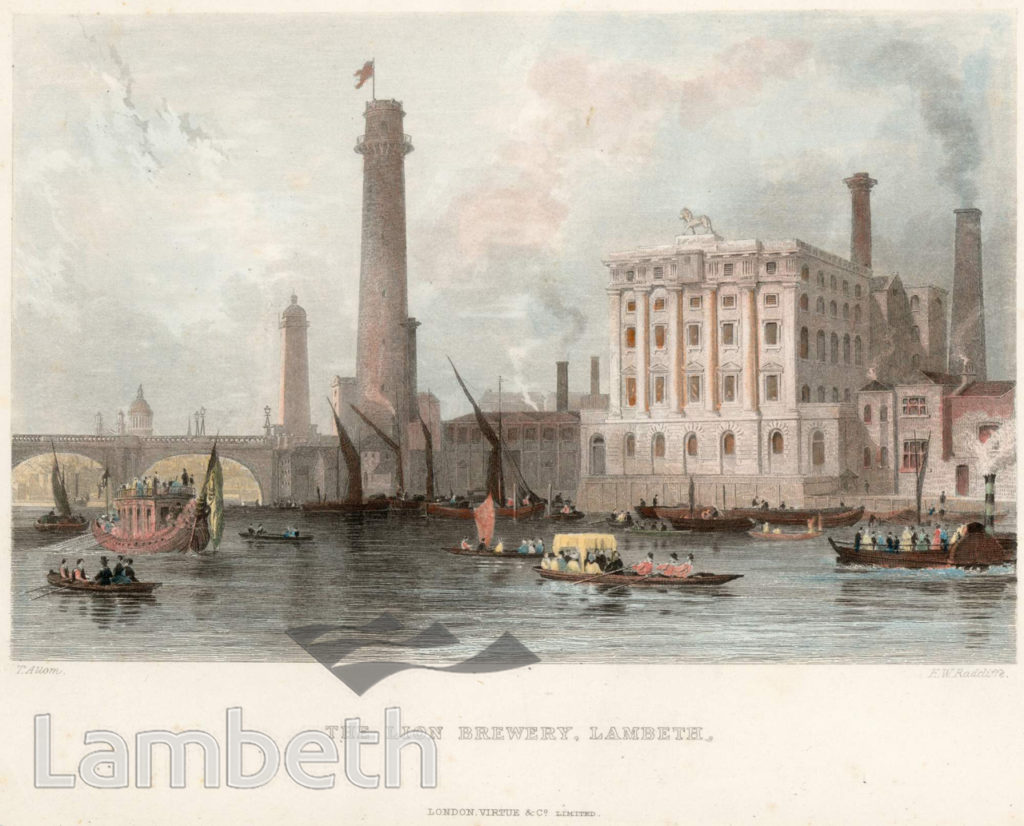 SHOT TOWER AND RED LION BREWERY, WATERLOO