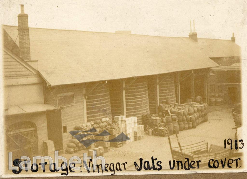 VINEGAR DISTILLERY, VAUXHALL
