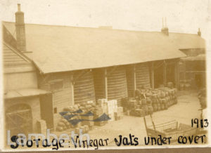 VINEGAR DISTILLERY, VAUXHALL