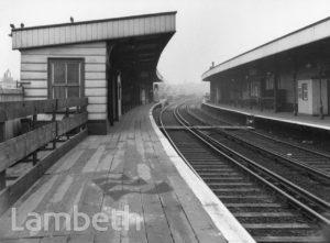 EAST BRIXTON  RAILWAY STATION, BRIXTON