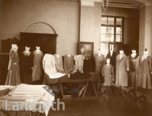 WATERLOO EAST INSTITUTE, FRIAR STREET: DRESSMAKING