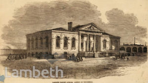 LAMBETH RAGGED SCHOOL, DOUGHTY STREET, LAMBETH