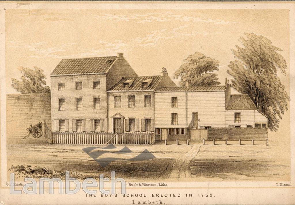LAMBETH PAROCHIAL SCHOOL, LAMBETH GREEN, LAMBETH