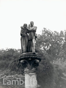 TINWORTH STATUE, DOULTON FOUNTAIN, KENNINGTON PARK, KENNINGTON