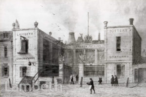 DOULTON POTTERY, LAMBETH