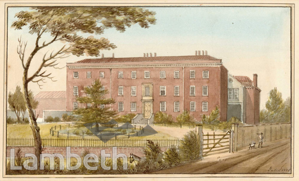 LOUGHBOROUGH HOUSE, BRIXTON