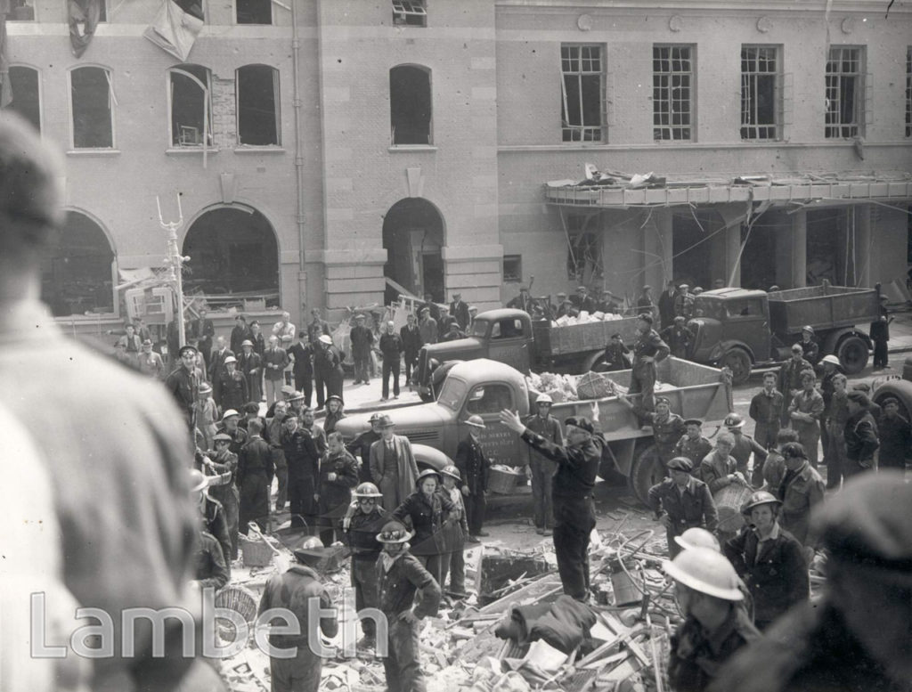 ACRE LANE, BRIXTON: WORLD WAR II INCIDENT