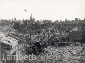 DUMBARTON ROAD, BRIXTON HILL: WORLD WAR II INCIDENT