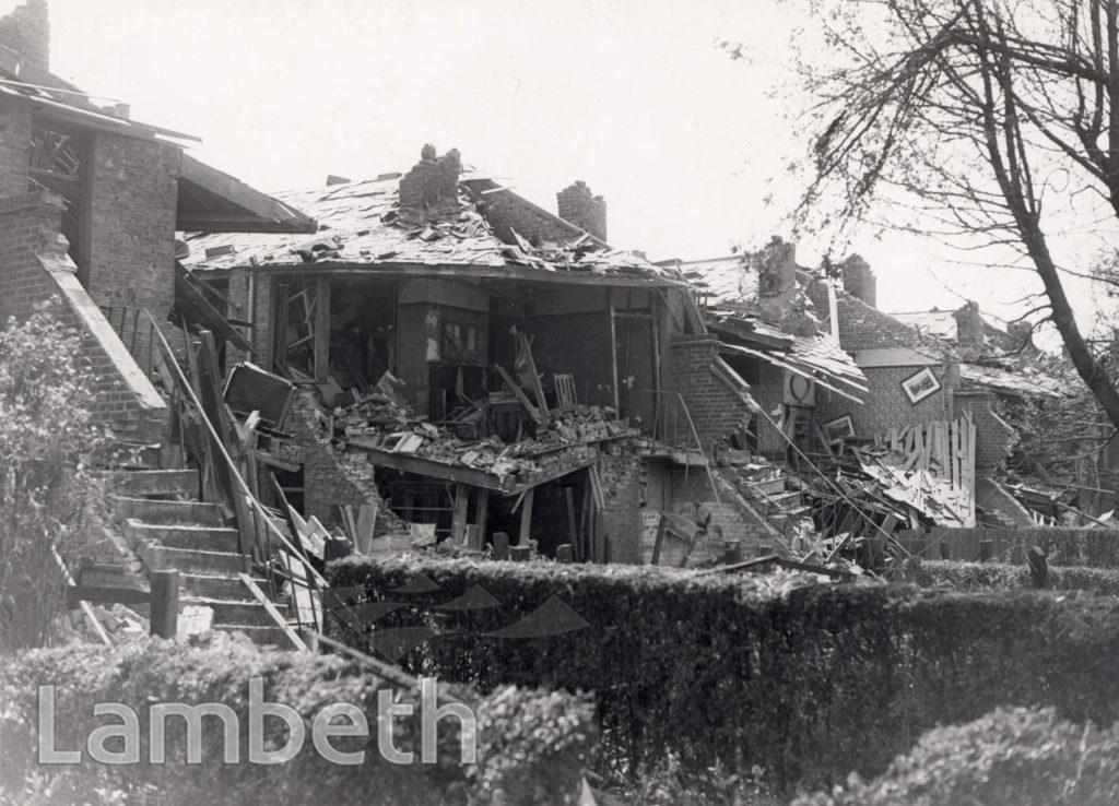 DUMBARTON ROAD, BRIXTON HILL: WORLD WAR II INCIDENT
