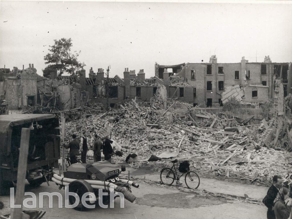 EFFRA PARADE, BRIXTON: WORLD WAR II INCIDENT